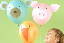 Baby Animal/Safari Themed Parties