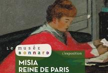 Expo Misia, Reine de Paris / Le musée Bonnard au Cannet, a coproduit l'exposition Misia, Reine de Paris présentée cet été au musée d'Orsay, reprise dans une version adaptée à ses espaces du 13 octobre au 6 janvier 2013 au Cannet. On y découvre Misia, personnalité avant-gardiste et sulfureuse, égérie de nombreux artistes, qualifiée de « faiseuse d'anges » par Cocteau et de « femme de génie » par Coco Chanel.