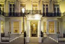 K+K Hotel George London / The K+K Hotel George is a first class charming boutique and business hotel located in the centre of London Kensington, UK, just a short walk from tube station Earl's Court and within easy reach of shops and stores in Knightsbridge, home of Harrods. / by K+K Hotels