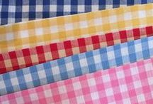 FABRIC: Check-it-Out / The Check-it-Out range includes a variety of different fabric bases. / by W h a t n o t .