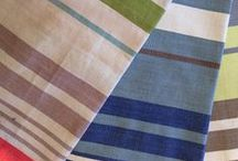 FABRIC: Stripe Nation / Sensational stripes abound!  Good for curtaining and light upholstery. / by W h a t n o t .