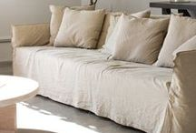FABRIC: Beat the Bank / Beat the Bank, is a collection of naturals: linens, cottons and blends.