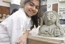 Youth Classes at Clay Art Center / Offering summer camps, school recess camps, birthday parties, scout badge workshops and weekly after school and weekend classes, Clay Art Center touches the lives of hundreds of children and teens every semester!
