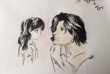 personnages de manga