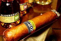 Cigars and spirits
