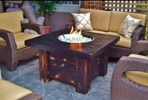Fire Pits & Tables / Great ways to heat up your outdoor space with fire!