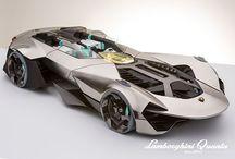 vehicles / Design, concept, sketches, digital 3d scuplture, prototype, etc.