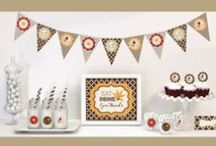 Turkey Day Parties! / All the favors, decor and planning ideas you need to plan your feast!