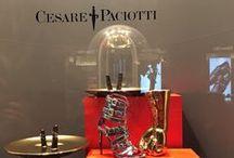 Cesare Paciotti Salone del Mobile 2015 / Ke-World  Installazione per il Salone del Mobile 2015 Cesare Paciotti Boutique Via Sant'andrea Milano