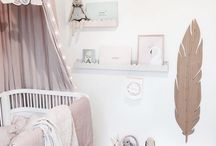 Baby room / #babyroom #room #white #mint 3pink #grey #babystyle #baby