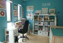 Sewing room / by Amy S