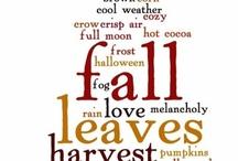 Fall / by Amanda Faneck