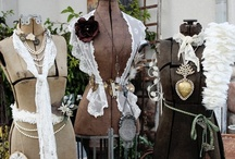 Dress Forms / ~♥~Fabulous Shabby Vintage Frilly Thing's~♥~   / by Karen Stevens
