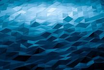 Abstract digital art / A collection of abstract digital art