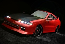 3D Artwork - Acura Integra Type-R / Creating an Acura Integra Type-R 3D Model -- Some of my early work during my foray into 3d modeling and animation in 2002-2003 / by Alex Topiler