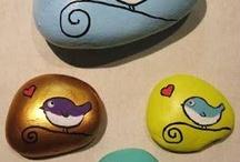 PIEDRAS PINTADAS / Piedras pintadas