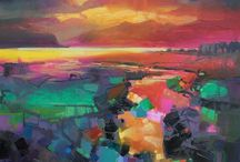 Canvas / I have two big canvases to paint. This is my inspiration for them.