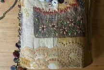 Book Arts - Lace, Fabric & Thread