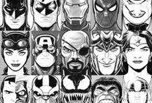 Marvel/DC ❤