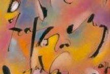 Pastel & Colored Pencil Letters