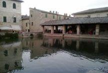 Bagno Vignoni time has stopped / Medieval Spa Bagno Vignoni  / by Cardelli Alessandro