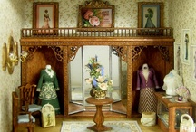 Quarter Scale Miniatures / Dollhouse Miniatures in Quarter Scale