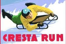 "The Cresta Run - St. Moritz / Clement Freud called it ""the most reliable laxative imaginable""."