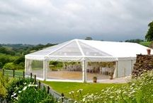 Wedding Marquees - External Pictures / This is what we do....stunning wedding marquees throughout Devon, Cornwall, Somerset and Dorset!