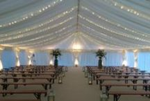 Lighting for Wedding Marquees / Whether its a special party or celebration, lighting in your marquee can play a large part in creating atmosphere and even a little drama!