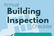 Around the Building / Safety considerations, maintenance checklists and other risk management information regarding your facility.