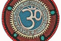 There's No Place Like OM / In Hinduism, Om is one of the most important spiritual symbols (pratima). It refers to Atman (soul, self within) and Brahman (ultimate reality, entirety of the universe, truth, divine, supreme spirit, cosmic principles, knowledge) .It is a sacred spiritual incantation made before and during the recitation of spiritual texts, during puja and private prayers and sometimes during meditative and spiritual activities such as Yoga.