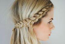 ПРИЧЁСКИ / Укладка длинных волос и виды стрижек коротких волос.