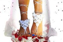 Barefoot Sandals&Anklets / My handmade products..