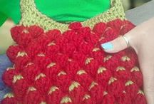 Crochet&Knitted Bags / My Handmade Products..