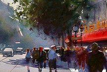 Art. Watercolours