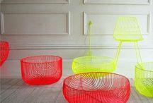 Furniture & textile / Interior design / by Shira Warshavski