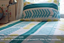 Dream Child's Scooter & Chevron Organic Duvet Cover / 100% organic cotton duvet cover, made in Canada  http://dreamchild.ca/shop/scooter-chevron-duvet-cover/  Forget clichés like robots and trucks for this kid – scooters and chevrons are where it's at. Fun, modern and a whole lot of cool.