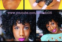 Au Naturale / Natural hair styles, tips and tricks