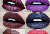Swatches / Makeup swatches