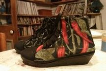 RE Estrena / Dale otra oportunidad a esos zapatos que ya no usas.  Telas exclusivas, piezas únicas...desde $20.000