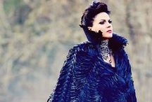 The Evil Queen (Regina Mills) / because I see myself in her... a version of myself that's still in slumber... perhaps also because of a sleeping curse.