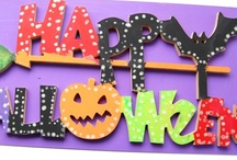 Halloween Craft Shapes / by Country Love Crafts