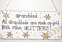 Handmade Personalised Signs Plaques / DIY handmade or hand-decorated signs.  A collection of lovely quotes, proverbs and sayings for friends and family.  Craft projects, keepsakes & gifts for every occasion.