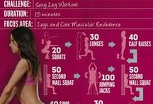 Fit and healthy / Fitness exercices, diet tips, motivation quotes, fitspiration, to lose weight or get fit!