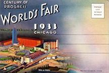 1933 CHICAGO WORLD'S FAIR postcards / Unused vintage postcards and souvenir postcard folders of the CHICAGO WORLD'S FAIR 1933 - 34. Pictures are taken from my personal collection.