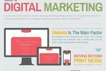 Infographics / Social media and web trends... I like my job!
