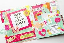 Paper craft / Happy mail inspiration and other paper crafts.