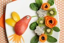 Food - beautiful plates / Plates that are too beautiful to eat. Food Inspiration and creation.