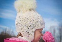 Czapki zimowe dla dziewczynek / O najpiękniejszych czapkach dla dziewczynek! The most beautiful hats for girls.