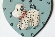 Pet Themed Handmade Craft Keepsakes / Personalised Customised (personalized, customized) Pet Gifts Keepsakes DIY Handmade.